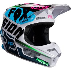 Fox MX19 V1 MVRS Czar light grey bukósisak