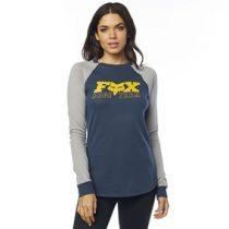 Fox Girl Langarmshirt Race Day