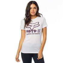Fox Girl T-Shirt Dips Crew white