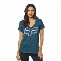 Fox Girl T-Shirt Responded V-Neck jade