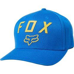 Fox Number2 Royal Blue flexfit sapka, L/XL méret