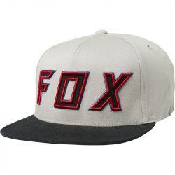Fox Posessed Light Grey snapback sapka