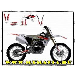 Blackbird Yamaha Graphic kit, White plastic, YZF 250-450