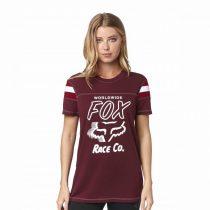 Fox Tank Rally Point Cranberry trikó