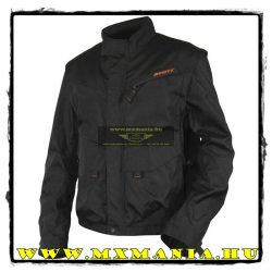 Scott Adventure kabát, Fekete-Narancs színben
