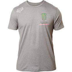 Fox Monster Energy Pro Circuit Team póló, szürke, M