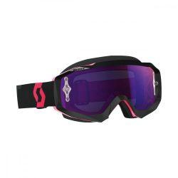 Scott Hustle cross szemüveg, Fekete-Fluo Pink