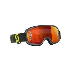 Scott Works Buzz MX cross szemüveg, Gyerek, Szürke-Fluo sárga