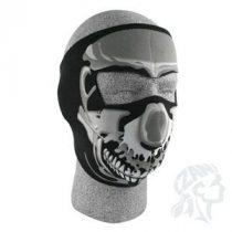 Zan Headgear neoprém maszk, Chrome Skull
