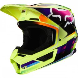 Fox MX20 V1 Gamma MVRS bukósisak, fluo yellow