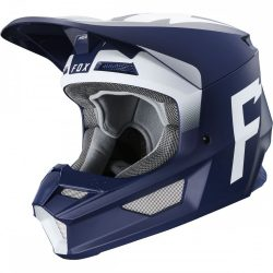 Fox MX20 V1 WErd MVRS bukósisak, navy-white