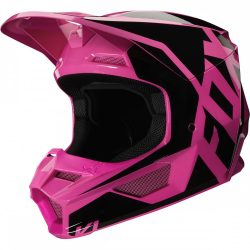 FOX MX20 V1 MVRS Prix, bukósisak, fekete-pink