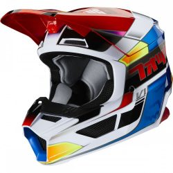 FOX MX20 V1 MVRS Yorr, bukósisak, blue-red