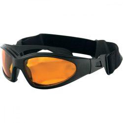 Bobster GXR szemüveg, amber színű lencsével