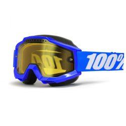 100 % Accuri Blue Snow szemüveg, sárga lencsével