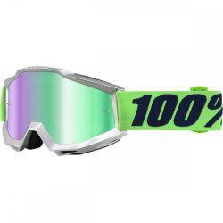 100% Accuri Nova szemüveg zöld tükrös lencsével