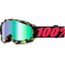 100% Accuri Chapter 11 szemüveg zöld tükrös lencsével