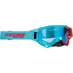 Moose Racing XCR Hatch blue-red szemüveg