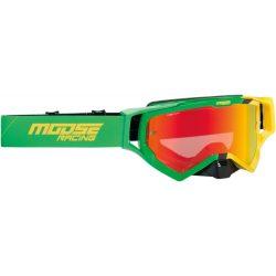 Moose Racing XCR Hatch green-yellow szemüveg