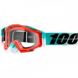 100% Racecraft Cubica szemüveg víztiszta lencsével