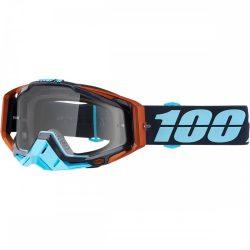 100% Racecraft Ergono szemüveg víztiszta lencsével
