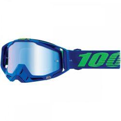 100% Racecraft Dreamflow szemüveg kék tükrös lencsével