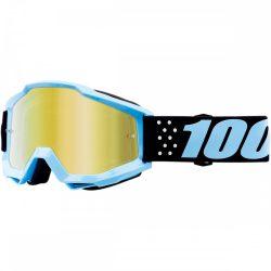 100% Accuri Taichi szemüveg arany tükrös lencsével