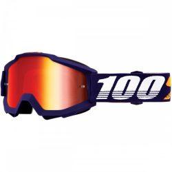 100% Accuri grib szemüveg piros tükrös lencsével