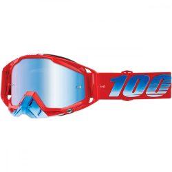 100% Racecraft Kuriakin szemüveg kék tükrős lencsével
