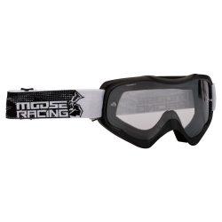 Moose Racing QUALIFIER SLASH Cross szemüveg, Fekete