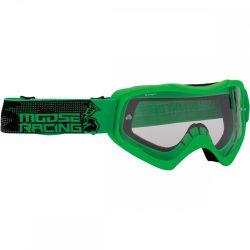 Moose Racing QUALIFIER SLASH Cross szemüveg, Zöld