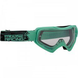 Moose Racing QUALIFIER SLASH Cross szemüveg, Teal