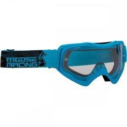 Moose Racing QUALIFIER SLASH Cross szemüveg, Kék
