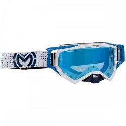Moose Racing XCR Pro Stars white-blue szemüveg