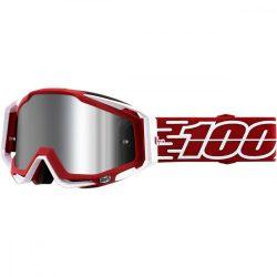 100% Racecraft Plus Gustavia szemüveg silver tükrös lencsével
