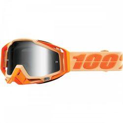 100% Racecraft Sahara szemüveg silver tükrös lencsével