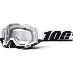 100% Racecraft Stuu szemüveg víztiszta lencsével+orrvédő