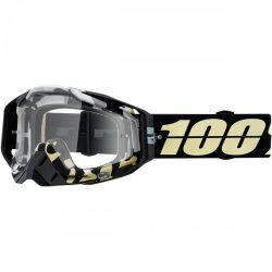 100% Racecraft Ergoflash szemüveg víztiszta lencsével