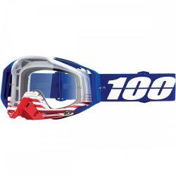 100% Racecraft Anthem szemüveg víztiszta lencsével