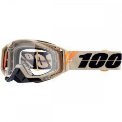 100% Racecraft Poliet szemüveg víztiszta lencsével