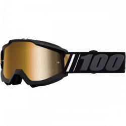 100% Accuri Off szemüveg arany tükrös lencsével