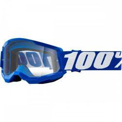 100% Strata 2 kék gyerek szemüveg víztiszta lencsével