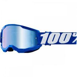 100% Strata 2 kék gyerek szemüveg tükrös lencsével