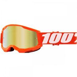 100% Strata 2 narancs gyerek szemüveg tükrös lencsével