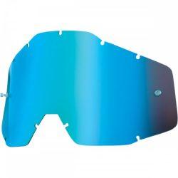 100% Accuri/Strata/Racecraft kék tökrös szemüveg lencse