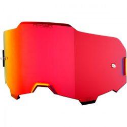 100% Armega Hiper piros tükrös szemüveg lencse