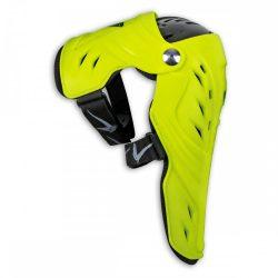 Ufo Syncron EVO csuklós térdvédő, fluo yellow