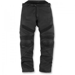 ICON HYPERSPORT™ LEATHER PANTS STEALTH BLACK BŐRNADRÁG