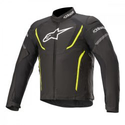 Alpinestars   T-Jaws v3 Waterproof Riding  motoroskabát, FEKETE-FLUO