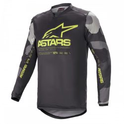 Alpinestars Racer Tactical grey-camo-yellow crossmez